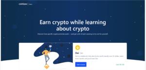 Coinbase Earn DAI